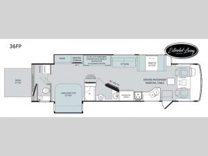 Vacationer 36FP Floorplan Image