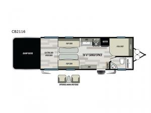Stealth CB2116 Floorplan Image