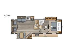 Eagle HT 27SGX Floorplan Image