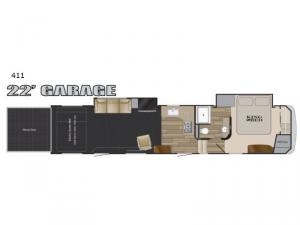 Road Warrior 411 Floorplan Image