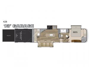Road Warrior 426 Floorplan Image