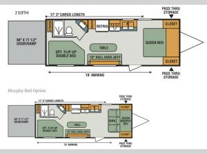 Sportster 100 210TH Floorplan Image