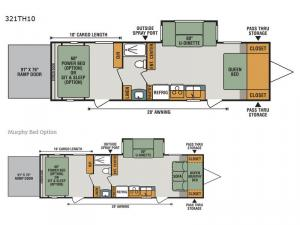 Sportster 100 321TH10 Floorplan Image