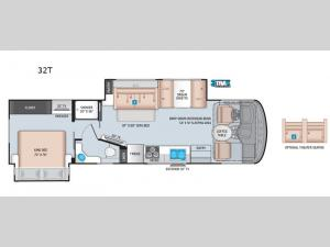 Windsport 32T Floorplan Image
