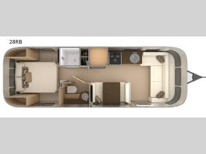 Flying Cloud 28RB Floorplan Image