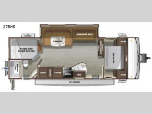 Autumn Ridge 27BHS Floorplan Image