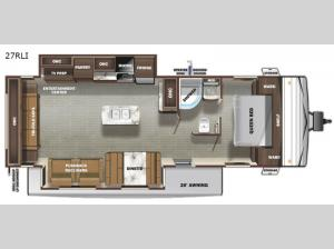 Autumn Ridge 27RLI Floorplan Image