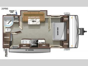 Autumn Ridge 20FBS Floorplan Image