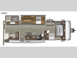 Autumn Ridge 32BHS Floorplan Image