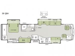 Allegro RED 38 QBA Floorplan Image