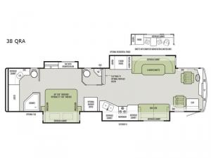 Allegro RED 38 QRA Floorplan Image