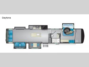 Landmark 365 Daytona Floorplan Image