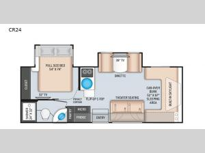 Quantum Sprinter CR24 Floorplan Image