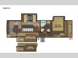 Black Stone Mountain Series 280KVS Floorplan Image