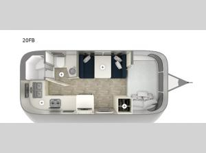 Bambi 20FB Floorplan Image