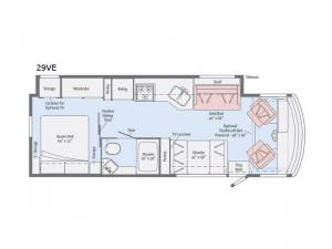 Sunstar 29VE Floorplan Image