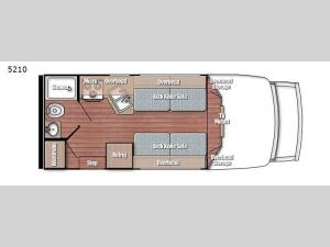BT Cruiser 5210 Floorplan Image