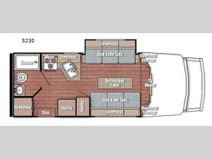 BT Cruiser 5230 Floorplan Image