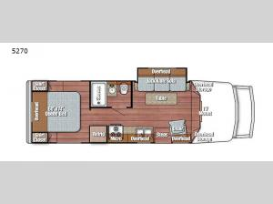 BT Cruiser 5270 Floorplan Image