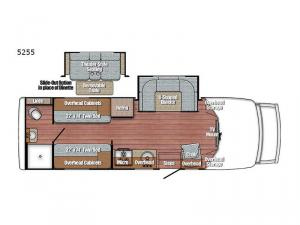 BT Cruiser 5255 Floorplan Image