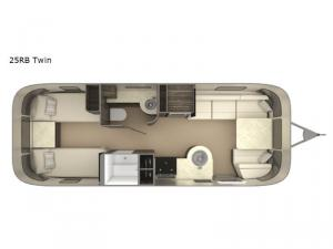International Signature 25RB Twin Floorplan Image