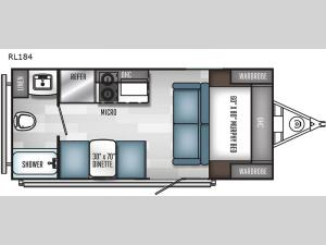 Real-Lite Mini RL184 Floorplan Image
