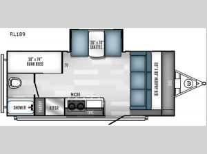 Real-Lite Mini RL189 Floorplan Image