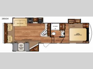 Black Diamond 28SGW Floorplan Image
