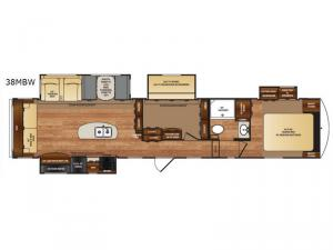 Black Diamond 38MBW Floorplan Image