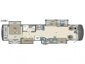 Charleston 430BH Floorplan Image
