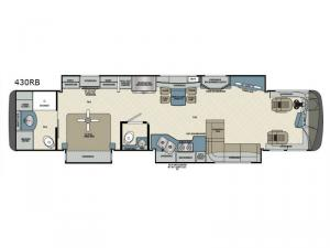 Charleston 430RB Floorplan Image