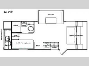 Retro 231EABH Floorplan Image