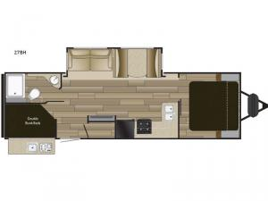 Fun Finder XTREME LITE 27BH Floorplan Image