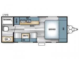 Salem Cruise Lite FS 175FB Floorplan Image