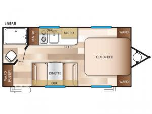 Salem Cruise Lite FS 195RB Floorplan Image