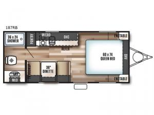 Salem Cruise Lite FS 187RB Floorplan Image