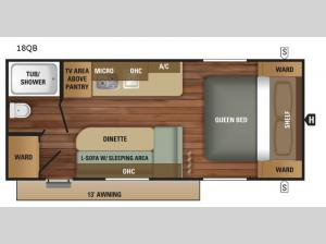 Autumn Ridge Outfitter 18QB Floorplan Image