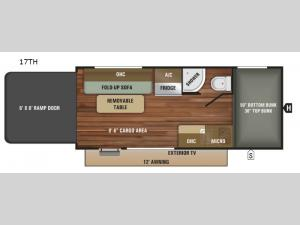 Autumn Ridge Outfitter 17TH Floorplan Image