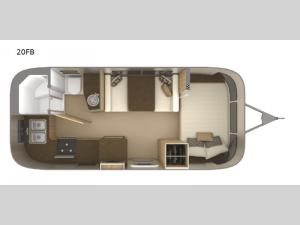 Flying Cloud 20FB Floorplan Image