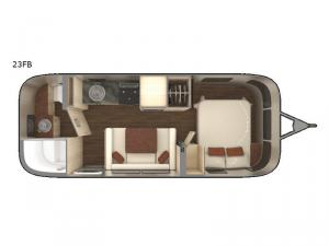 International Serenity 23FB Floorplan Image