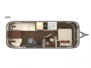 International Serenity 25FB Floorplan Image