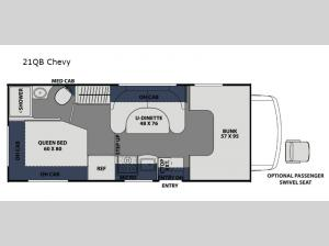 Freelander 21QB Chevy Floorplan Image