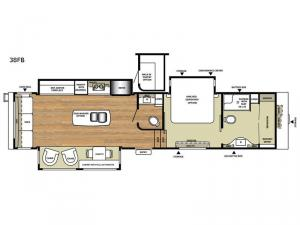 Legacy 38FB Floorplan Image