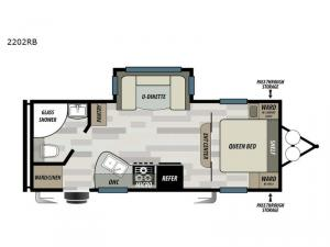 Sonoma 2202RB Floorplan Image