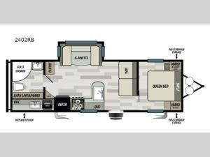 Sonoma 2402RB Floorplan Image