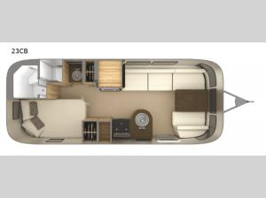 Flying Cloud 23CB Floorplan Image