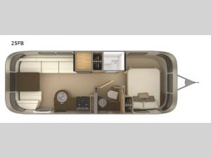 Flying Cloud 25FB Floorplan Image