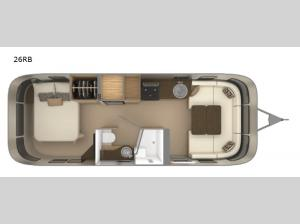 Flying Cloud 26RB Floorplan Image