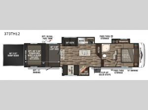 Sportster 373TH12 Floorplan Image