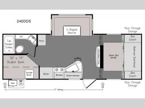Intrepid 240DDS Floorplan Image